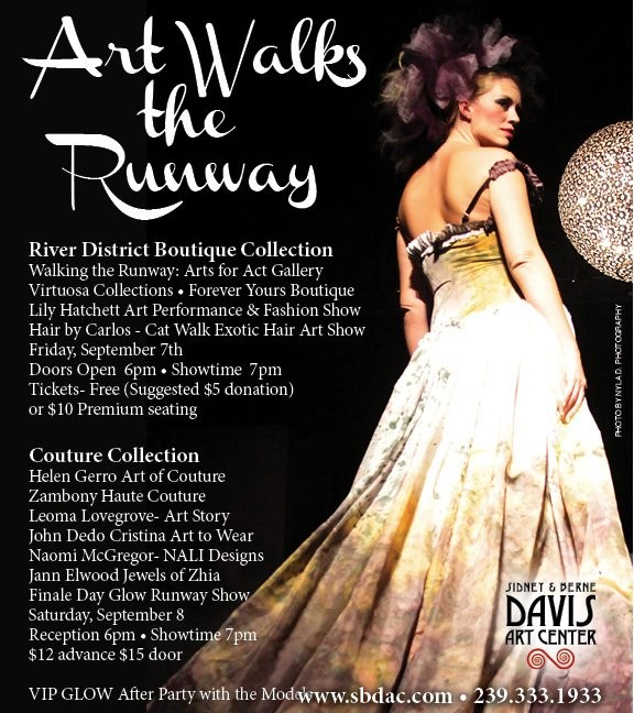 Art Walks the Runway