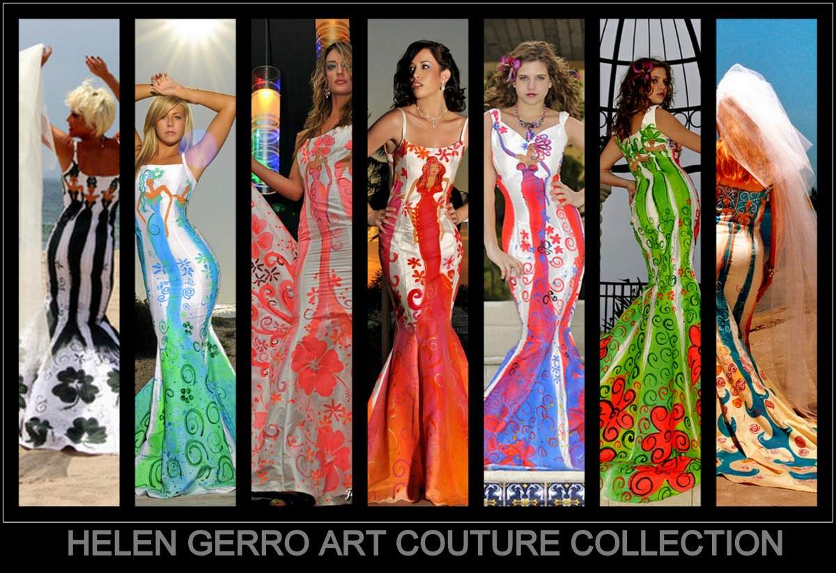 Art Couture Hand Painted Diva's
