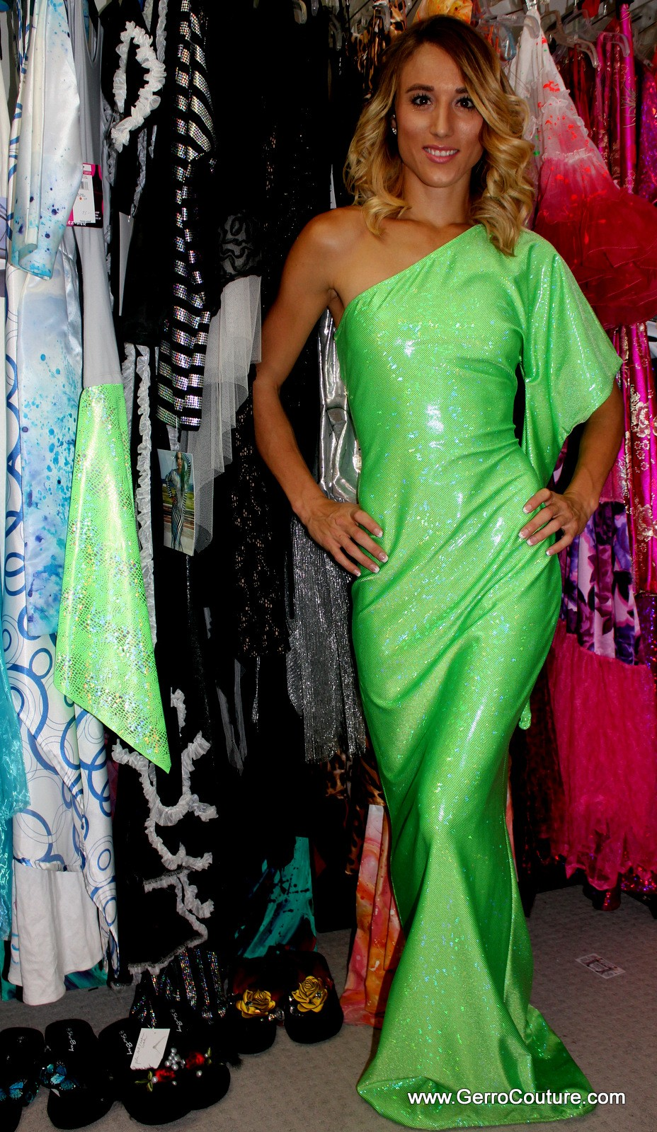Dress Emerald Mermaid 5616